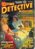 Dime Detective Magazine (1931-1953 Popular Publications) Pulp Nov 1939