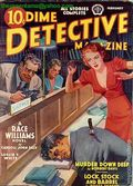 Dime Detective Magazine (1931-1953 Popular Publications) Pulp Feb 1940