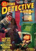 Dime Detective Magazine (1931-1953 Popular Publications) Pulp Mar 1940