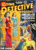 Dime Detective Magazine (1931-1953 Popular Publications) Pulp Jun 1940