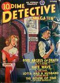 Dime Detective Magazine (1931-1953 Popular Publications) Pulp Sep 1940
