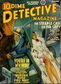 Dime Detective Magazine (1931-1953 Popular Publications) Pulp Dec 1940