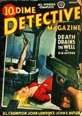 Dime Detective Magazine (1931-1953 Popular Publications) Pulp Jan 1942