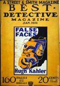 Best Detective Magazine (1929-1937 Street & Smith) Pulp Vol. 3 #3
