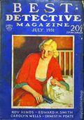 Best Detective Magazine (1929-1937 Street & Smith) Pulp Vol. 4 #3