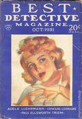 Best Detective Magazine (1929-1937 Street & Smith) Pulp Vol. 4 #6