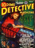 Dime Detective Magazine (1931-1953 Popular Publications) Pulp Feb 1942