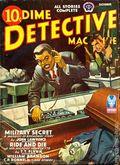 Dime Detective Magazine (1931-1953 Popular Publications) Pulp Oct 1942