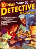 Dime Detective Magazine (1931-1953 Popular Publications) Pulp Jun 1943