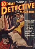 Dime Detective Magazine (1931-1953 Popular Publications) Pulp Oct 1943