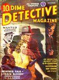 Dime Detective Magazine (1931-1953 Popular Publications) Pulp Nov 1943