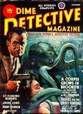 Dime Detective Magazine (1931-1953 Popular Publications) Pulp Oct 1944