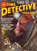 Dime Detective Magazine (1931-1953 Popular Publications) Pulp Jul 1945