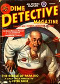 Dime Detective Magazine (1931-1953 Popular Publications) Pulp Aug 1945