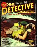 Dime Detective Magazine (1931-1953 Popular Publications) Pulp Vol. 50 #2