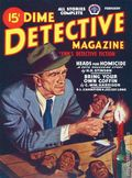 Dime Detective Magazine (1931-1953 Popular Publications) Pulp Feb 1946