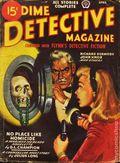 Dime Detective Magazine (1931-1953 Popular Publications) Pulp Apr 1946