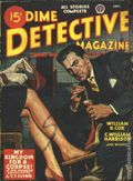 Dime Detective Magazine (1931-1953 Popular Publications) Pulp Vol. 52 #2