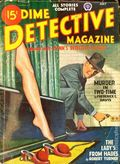 Dime Detective Magazine (1931-1953 Popular Publications) Pulp Vol. 54 #4
