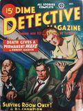 Dime Detective Magazine (1931-1953 Popular Publications) Pulp Oct 1947