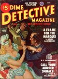 Dime Detective Magazine (1931-1953 Popular Publications) Pulp Jun 1948