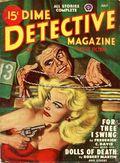 Dime Detective Magazine (1931-1953 Popular Publications) Pulp Jul 1948