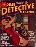 Dime Detective Magazine (1931-1953 Popular Publications) Pulp Vol. 58 #2