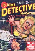 Dime Detective Magazine (1931-1953 Popular Publications) Pulp Nov 1948