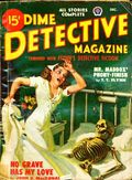 Dime Detective Magazine (1931-1953 Popular Publications) Pulp Dec 1948