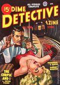 Dime Detective Magazine (1931-1953 Popular Publications) Pulp Jan 1949