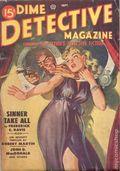 Dime Detective Magazine (1931-1953 Popular Publications) Pulp Sep 1949