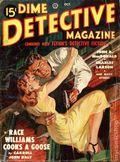 Dime Detective Magazine (1931-1953 Popular Publications) Pulp Oct 1949