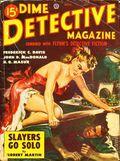 Dime Detective Magazine (1931-1953 Popular Publications) Pulp Nov 1949