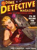 Dime Detective Magazine (1931-1953 Popular Publications) Pulp Feb 1950