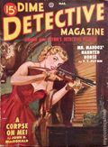 Dime Detective Magazine (1931-1953 Popular Publications) Pulp Mar 1950