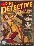 Dime Detective Magazine (1931-1953 Popular Publications) Pulp Jun 1950