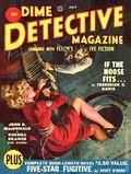 Dime Detective Magazine (1931-1953 Popular Publications) Pulp Jul 1950