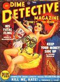 Dime Detective Magazine (1931-1953 Popular Publications) Pulp Aug 1950