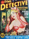 Dime Detective Magazine (1931-1953 Popular Publications) Pulp Nov 1950