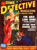Dime Detective Magazine (1931-1953 Popular Publications) Pulp Dec 1950