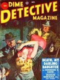 Dime Detective Magazine (1931-1953 Popular Publications) Pulp Oct 1951
