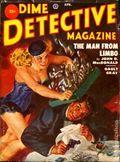 Dime Detective Magazine (1931-1953 Popular Publications) Pulp Apr 1952