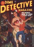 Dime Detective Magazine (1931-1953 Popular Publications) Pulp Jun 1952
