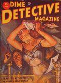 Dime Detective Magazine (1931-1953 Popular Publications) Pulp Aug 1952