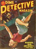 Dime Detective Magazine (1931-1953 Popular Publications) Pulp Oct 1952