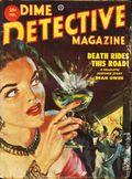 Dime Detective Magazine (1931-1953 Popular Publications) Pulp Feb 1953