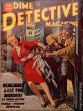 Dime Detective Magazine (1931-1953 Popular Publications) Pulp Apr 1953