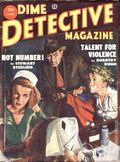 Dime Detective Magazine (1931-1953 Popular Publications) Pulp Aug 1953