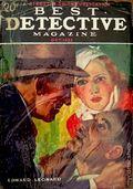 Best Detective Magazine (1929-1937 Street & Smith) Pulp Vol. 8 #6