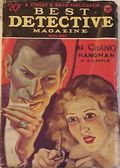 Best Detective Magazine (1929-1937 Street & Smith) Pulp Vol. 9 #1